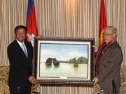 Party leader visits Siem Reap province
