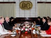 Belgian worker party delegation visits Vietnam