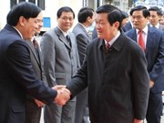 State President works with Cao Bang province