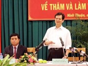 Ninh Thuan unveils development master plan to 2020