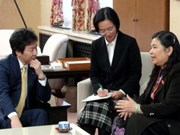 NA Vice Chairwoman meets Japanese leaders