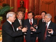 Party, State leaders celebrate Lunar New Year
