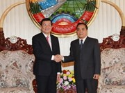 Vietnamese President meets Lao leaders