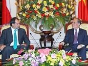 NA chairman meets Chilean Senate President