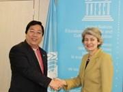 Vietnam pledges to join UNESCO efforts