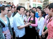 President urges Son La to care for those in need
