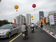 Two new flyovers open in Hanoi