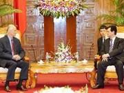 PM Dung welcomes Liechtenstein prince