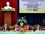 Localities of Vietnam, Laos enjoy deep ties