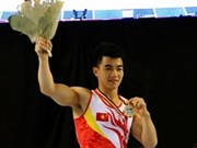 Vietnamese athletes shine at gymnastics events