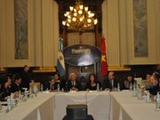 Vietnam, Argentina boost legislative ties