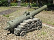 Cannon from Nguyen Dynasty found in Yen Bai