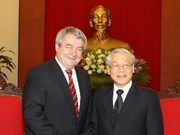 Party leader welcomes Czech communist party delegation