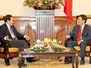 Singapore diplomat on Vietnam visit