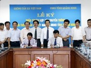 VNA, Quang Ninh sign cooperation agreement