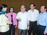 NA Chairman works with HCM City authorities
