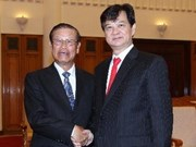 Prime Minister welcomes Laos' Deputy PM