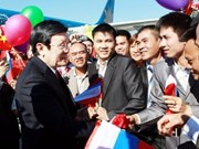 President meets with OV in Vladivostok