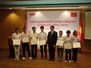Singapore offers ASEAN scholarships to Vietnamese pupils