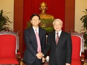 Party leader welcomes Chinese Public Security Minister