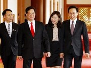 PM meets with RoK, Malaysian leaders