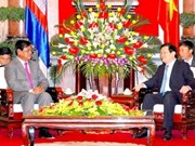 President welcomes Cambodian Deputy PM