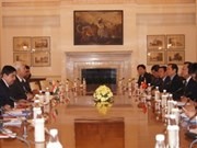 VN values ties with India