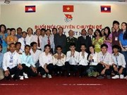 HCM City, Lao, Cambodian youths boost ties