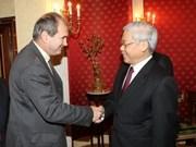 Vietnam strengthens ties with Italian party