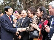 President lauds overseas Vietnamese's contributions