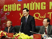 New Year visits to PetroVietnam, armed forces