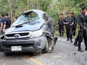 Thailand blast: 2 dead, 18 hurt