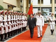 Vietnam, Laos boost security ties