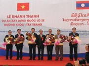 VN-Laos highway inaugurated