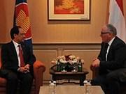 ASEAN, Netherlands strengthen cooperation