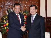 Vietnamese leaders receive Brunei Energy Minister