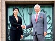 Thailand, Malaysia look toward stronger ties