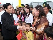 President pays working visit to Quang Tri