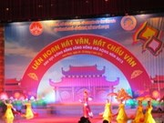 Chau Van singing festival opens in Vinh Phuc province