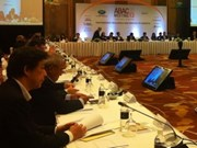 Asia-Pacific business officials meet in Singapore
