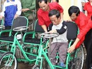 Disadvantaged people, patrons honoured