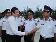 President pledges to help fishermen at sea