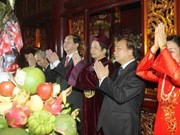Nationwide provinces commemorate Hung Kings
