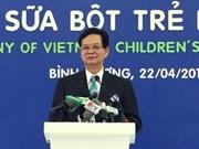 PM opens new Vinamilk factory