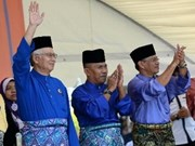 Malaysian PM begins nationwide election campaign