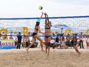 Asian women's beach volleyball opens in Ha Long
