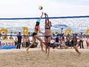 Asian women's beach volleyball opens in Ha Long