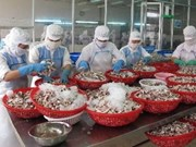 Seafood exports down in April