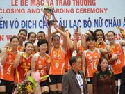 Chinese girls excel at Asian volleyball competition