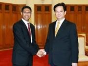 Prime Minister receives Timor-Leste Ambassador